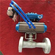 Q641F-16C DN50气动球阀