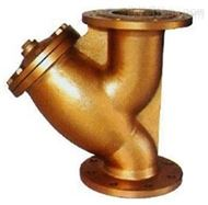 黄铜法兰过滤器