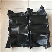 黑色三防布密封耐磨伸缩通风管