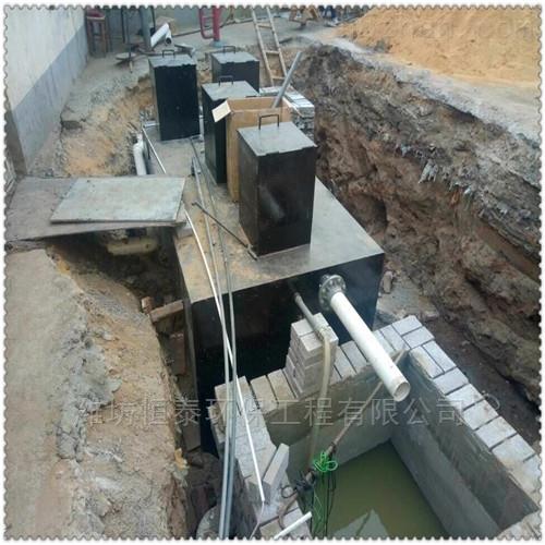 丽江市地埋式污水处理设备