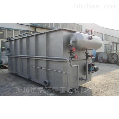 常德市溶气气浮机的安装