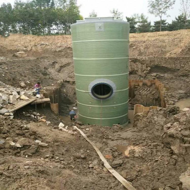 一体化污水雨水预制提升泵站特点