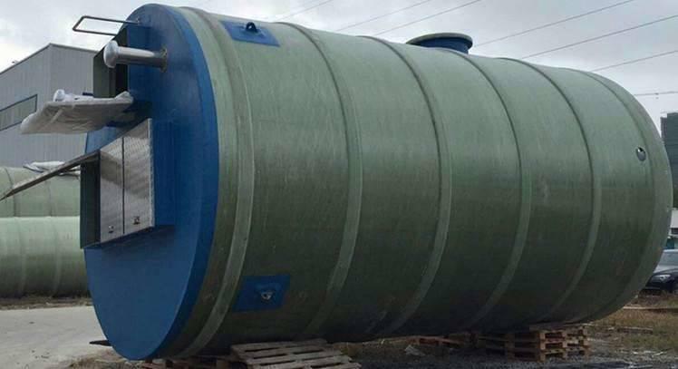 一体化污水预制泵站