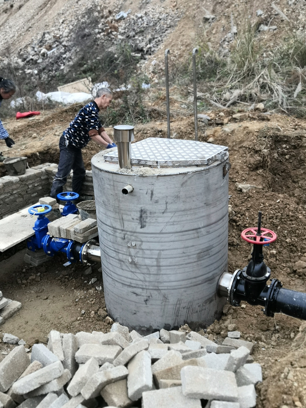 一体化污水提升泵站