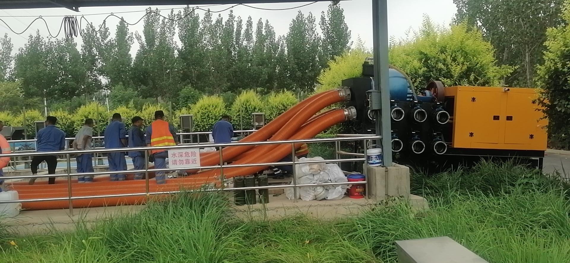 混流泵移动泵车