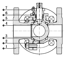 电动法兰三通球阀阀体材料