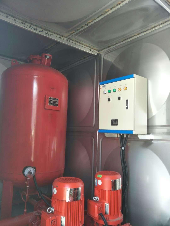 江苏河北河南32吨箱泵一体化消防泵站价格