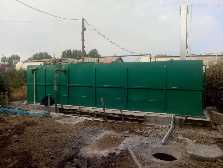 林芝居民生活污水处理设备工艺