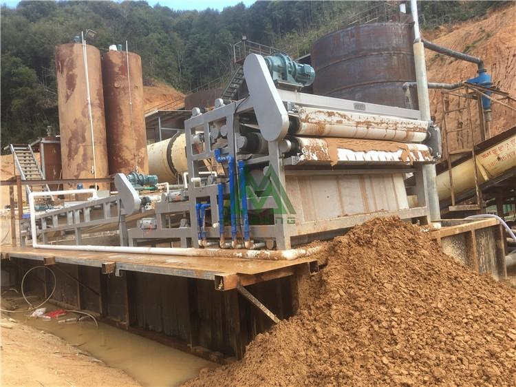 安徽石场泥浆脱水处理
