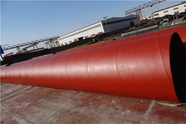 平凉加强级环氧树脂防腐钢管直销