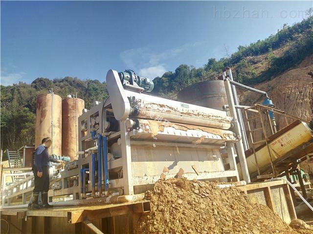 天津尾矿泥浆处理