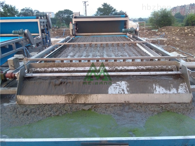 广西洗砂污泥脱水机