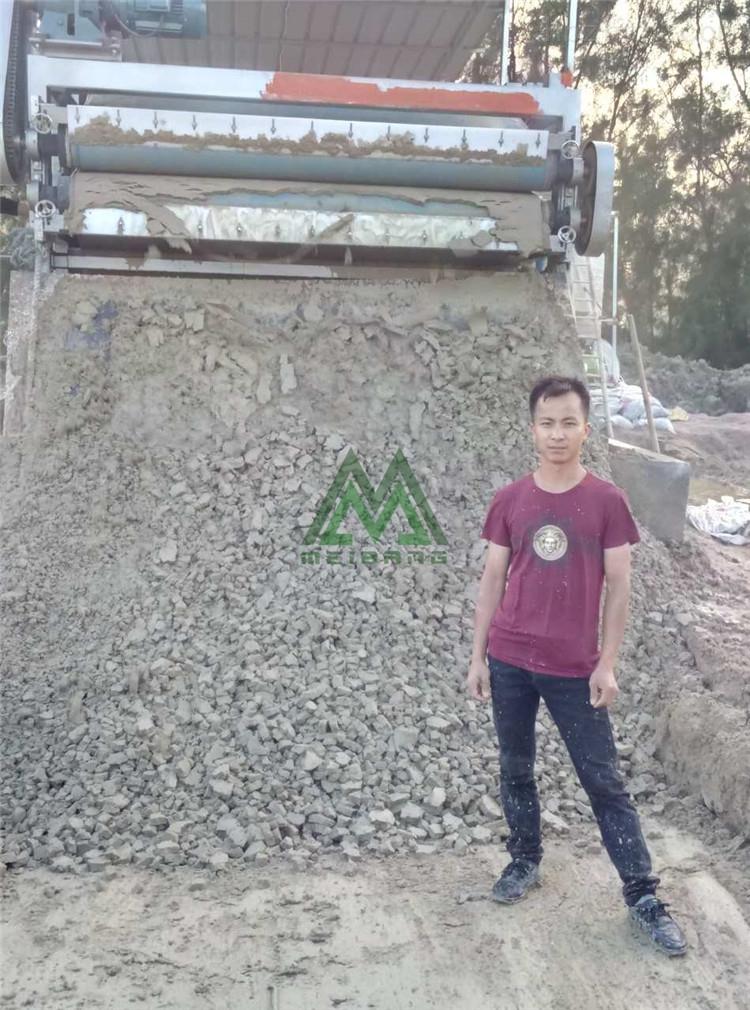 河源洗山砂泥浆脱水处理