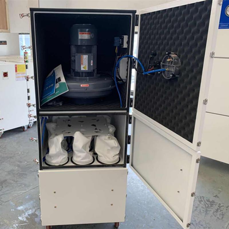 订购磨床吸尘设备 粉尘颗粒集尘机脉冲反吹集尘机低噪音集尘机示例图7