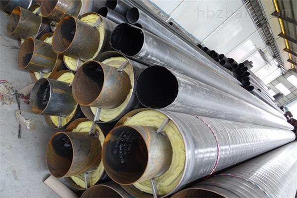 河南省耐高温钢套钢蒸汽保温管用途