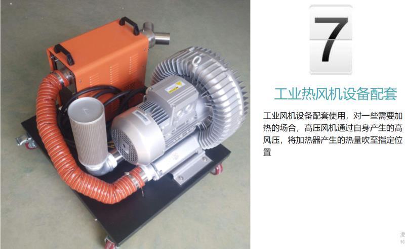 厂家3KW高压风机漩涡气泵 注塑机高压漩涡鼓风机示例图18