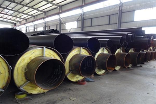 济宁直埋钢套钢蒸汽保温管价格