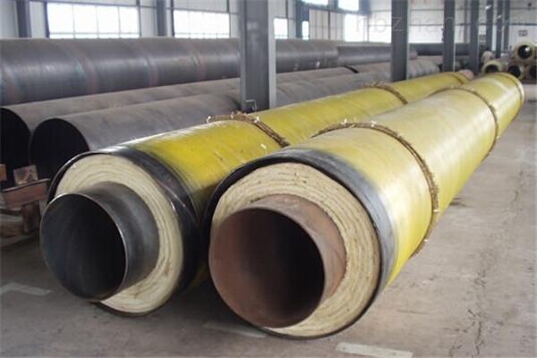 乌兰察布耐高温钢套钢蒸汽保温管厂家