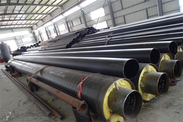 巴中耐高温钢套钢蒸汽保温管厂家