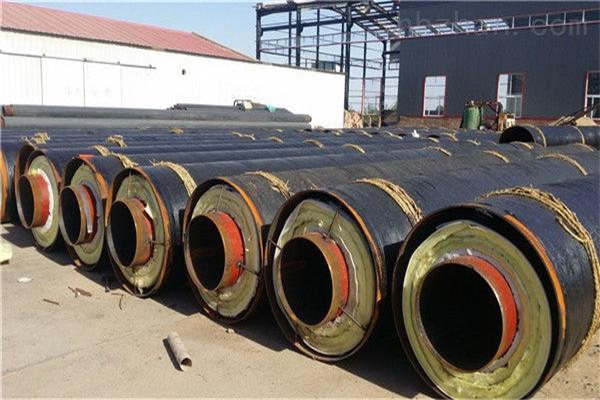 伊犁钢套钢埋地式蒸汽保温管厂家供应