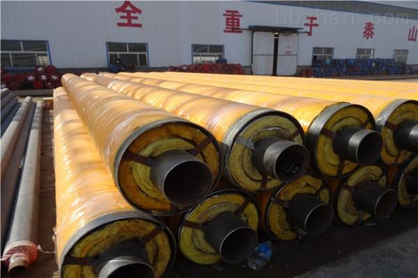 博尔塔拉蒸汽钢套钢预制直埋保温管加工