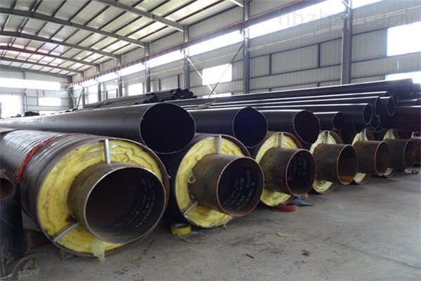 白山直埋钢套钢蒸汽保温管多少钱