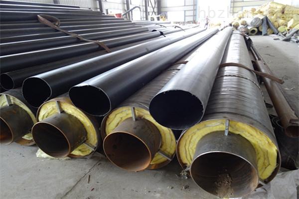 白山钢套钢蒸汽复合保温管现货