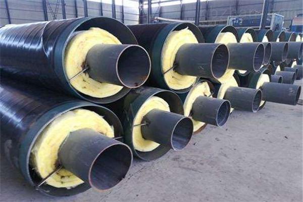常州蒸汽钢套钢预制直埋保温管供应