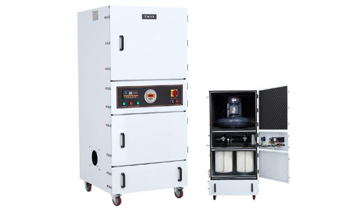 机床废屑除尘器 磨床粉尘吸尘器 柜式工业吸尘器 磨床吸尘器示例图12