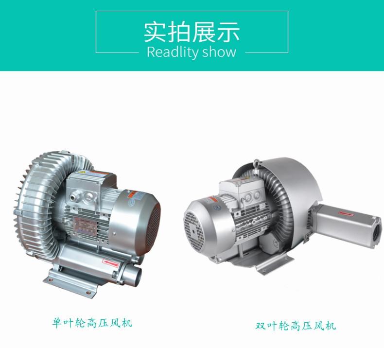 直销高压旋涡风机 工业低噪音高压风机 大功率高压鼓风机示例图5
