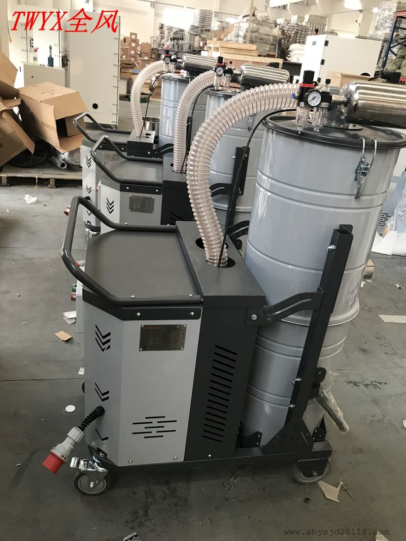 工厂 车间 仓库 地面灰尘颗粒吸尘器 厂家7.5KW大功率吸尘器示例图11