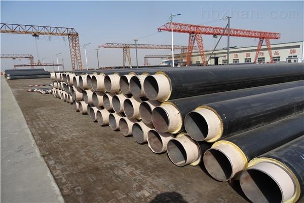 泰州黄夹克聚氨酯直埋保温钢管现货销售
