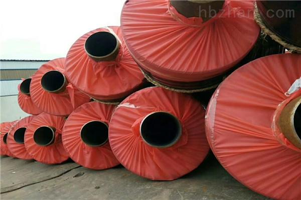 开封缠绕型玻璃钢预制保温钢管制造商