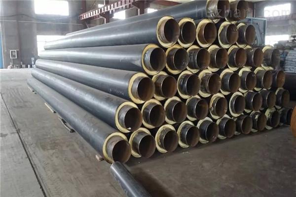 定西黄夹克聚氨酯直埋保温钢管厂家供应