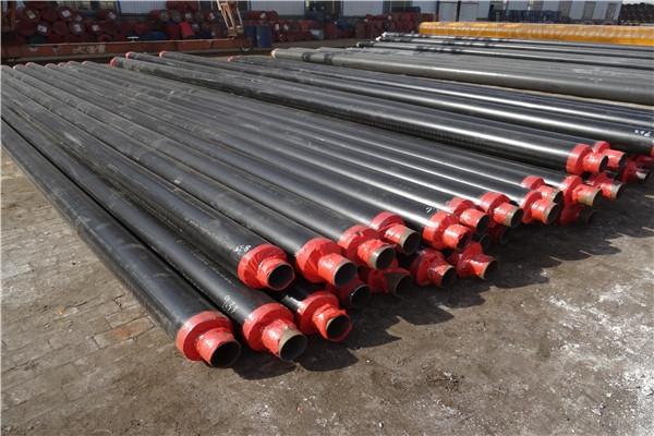 忻州黄夹克聚氨酯直埋保温钢管直销厂家