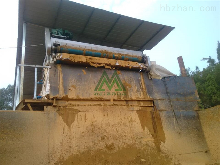 河北碎石厂泥浆处理设备效果