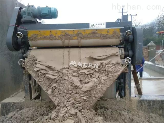 深圳高铁建设打桩污泥榨泥机效果