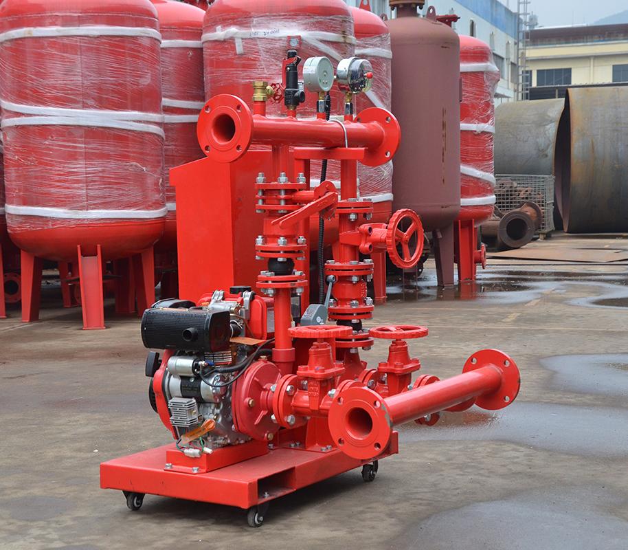 上海喜之泉ED3.0/10-2-GPM150 双动力消防泵,25kw小型双动力消防泵,消防泵示例图3
