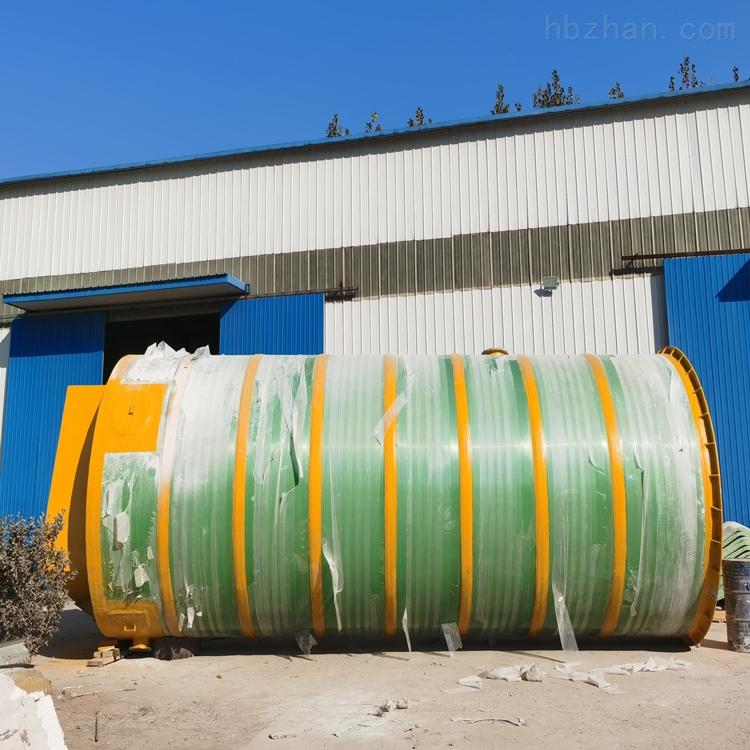 佳木斯全自动一体化预制泵站市政给排水泵站