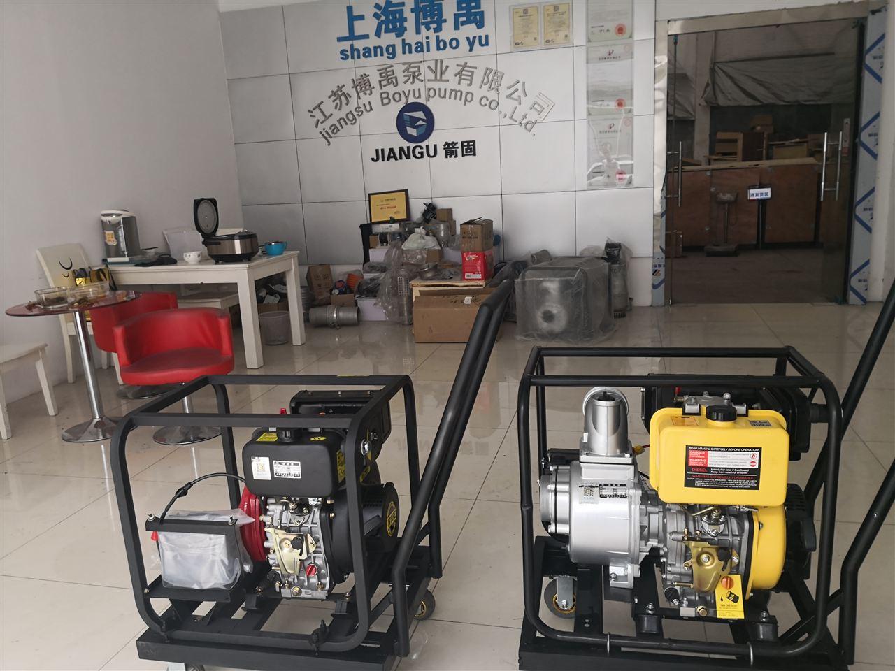 便携式柴油机水泵