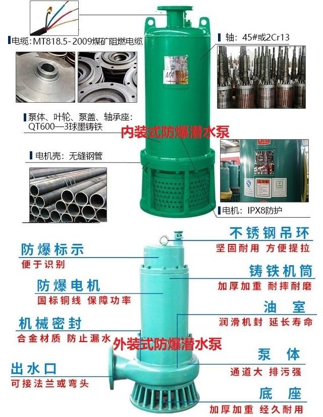 BQW防爆潜水泵结构