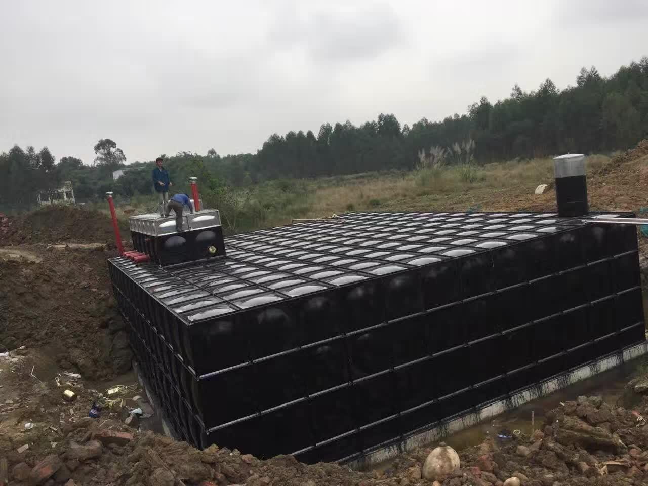 消防生活合用地埋式一体化给水设备