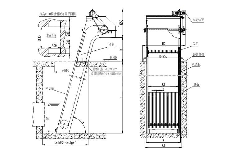 GSHP回转式格栅除污机 拦截漂浮物格栅清污机 格栅除渣固液分离器示例图4