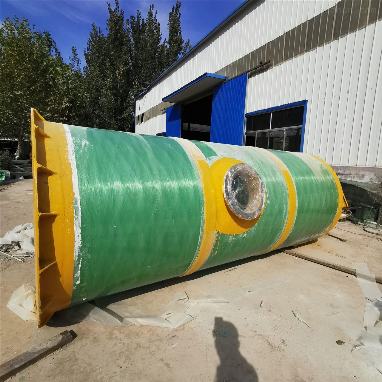 鹤岗GRP一体化提升泵站报价参数环保