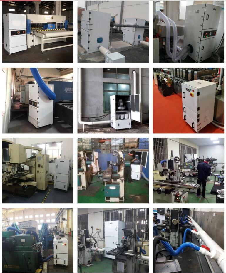定制 磨床吸尘器CW-220S  功率2.2kw磨床金属粉末工业磨床吸尘器示例图21