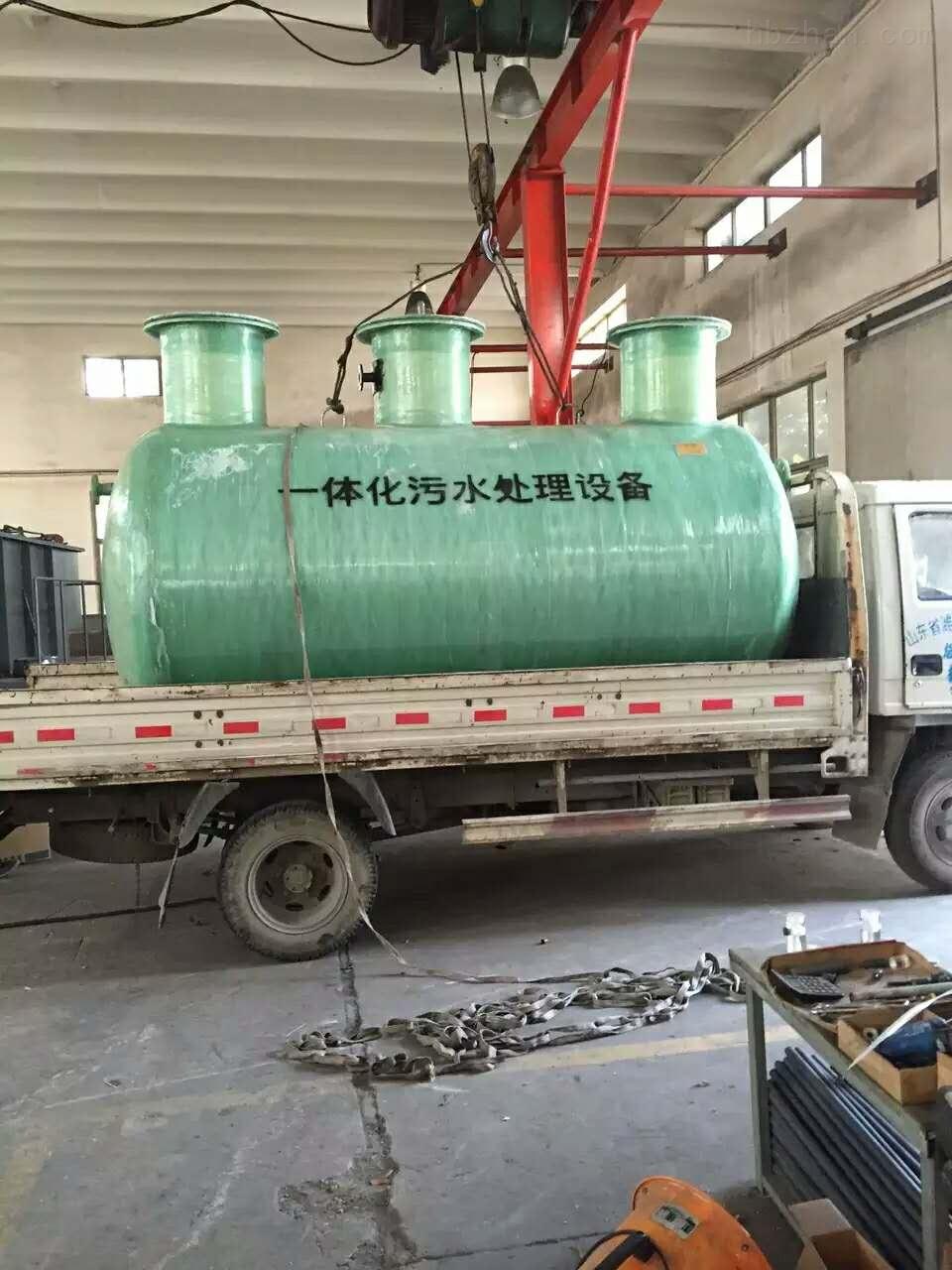 黃南污水處理設備安裝說明
