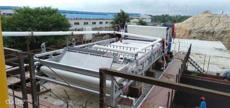 洗山沙泥浆脱水设备洗山沙污泥脱水处理工厂