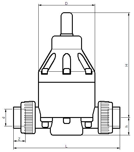 UPVC背压阀图