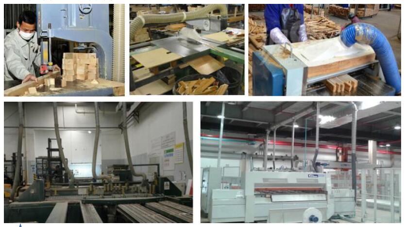 木工家具行业粉尘处理方案