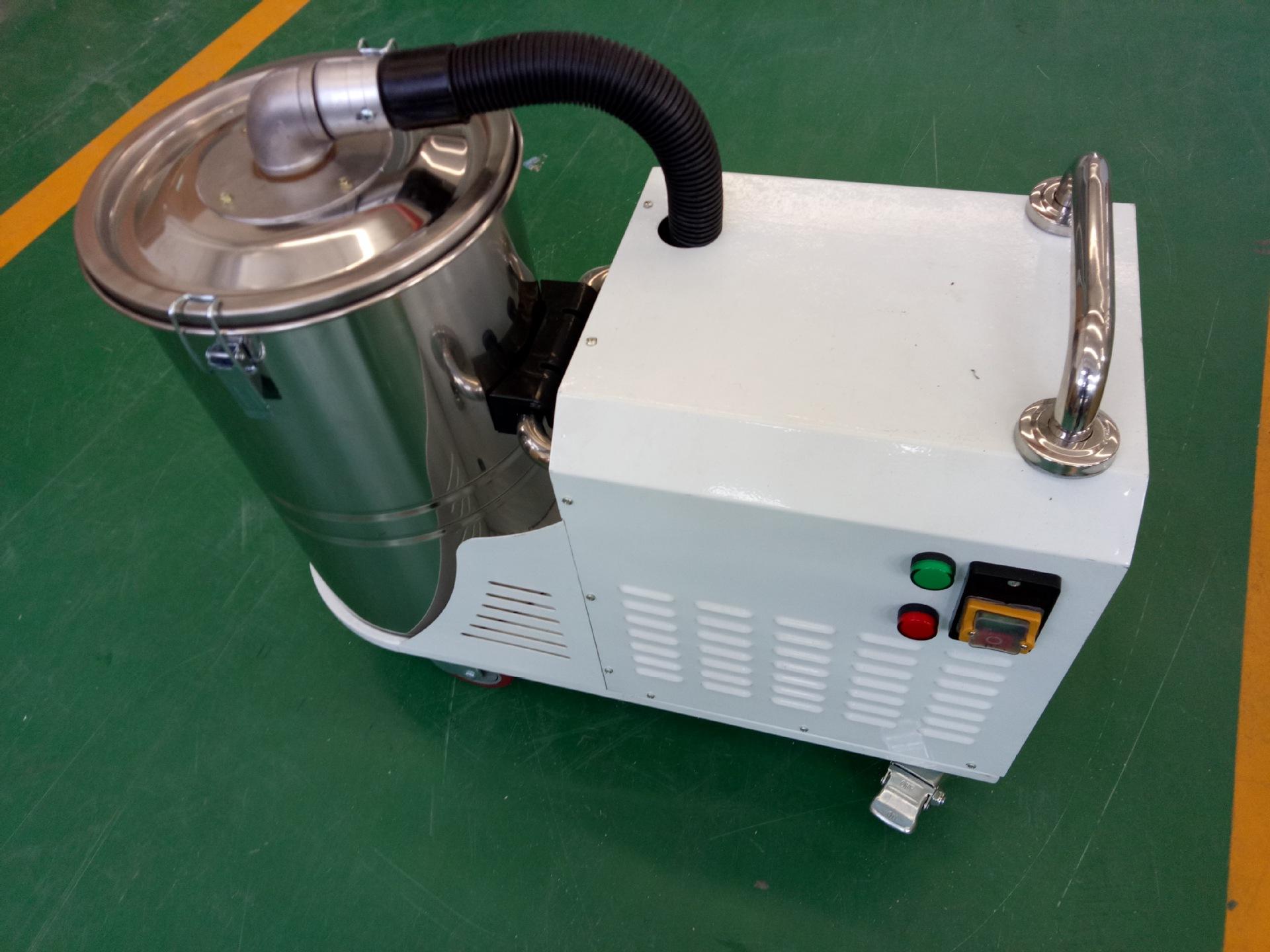 厂家吸石墨粉尘吸尘器 移动式脉冲反吹工业吸尘器 铝屑吸尘器示例图13